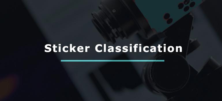 Sticker Classification
