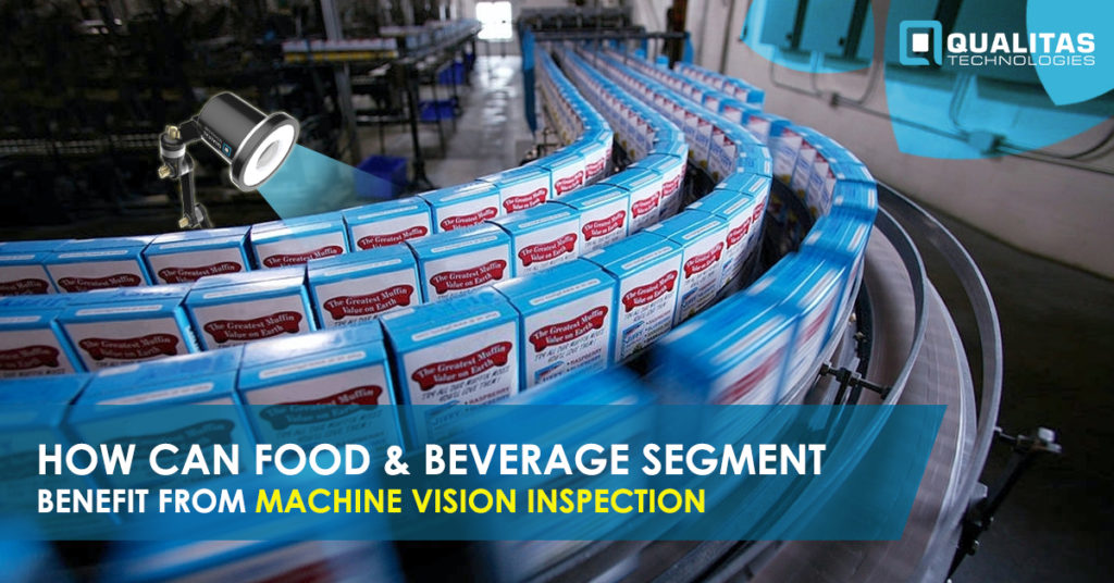 Machine Vision Inspection in Food & Beverage industry