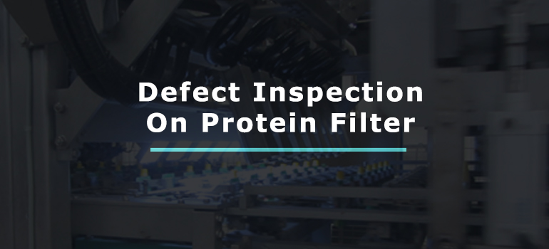 Protein Filter Defect Identification