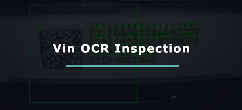 Vin OCR Inspection