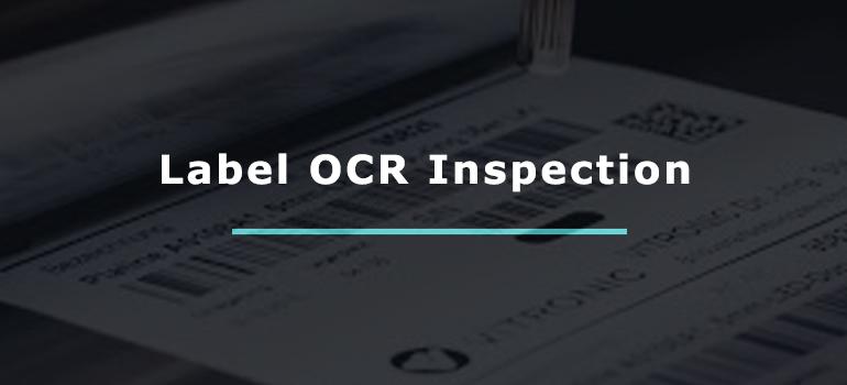 Label OCR Inspection