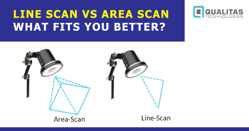 Area Scan vs Line Scan Cameras- Benefits and Limitations | Qualitas Technologies
