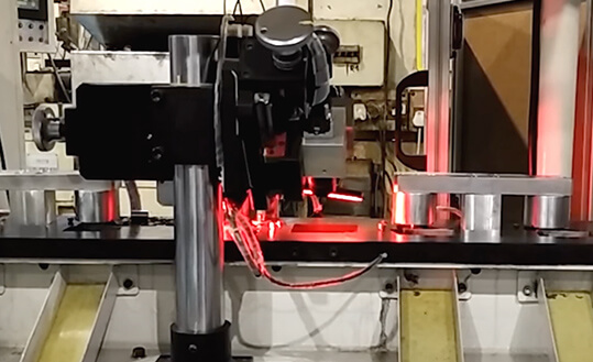 Bearing Inspection Machine Vision Setup