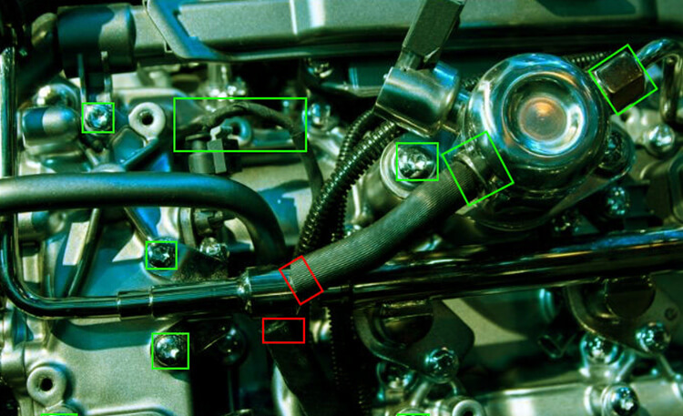 Automated Engine Assembly Inspection