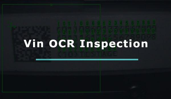 VIN OCR - Vehicle number reader