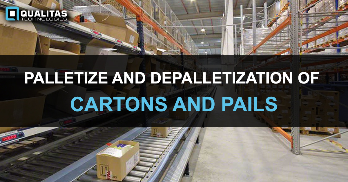 Palletization of Cartons- Vision Guided Robots Using AI