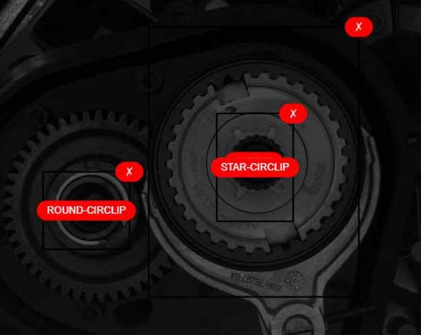 Gear box assembly inspection