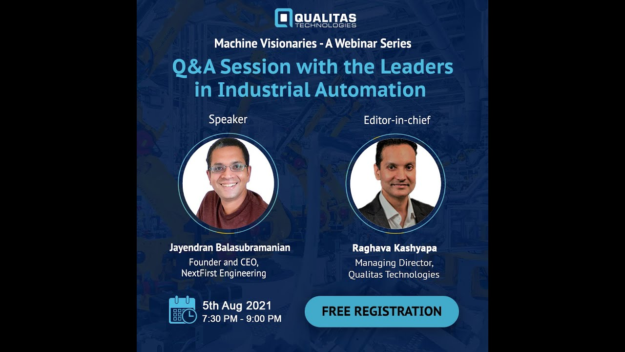 Q&A Session with leaders in Machine Vision