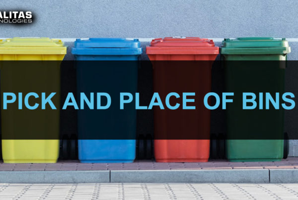 Pick and place of bins VGR