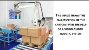Palletization of Cartons- Vision Guided Robots Using AI | Qualitas Technologies