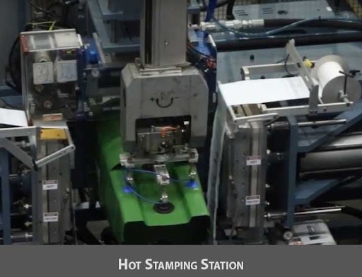 Vision Guided Robots Using AI To Pick Bins From A Conveyor And Place It Inside The Cartons